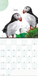 kalenderdesign 2017 monkimia