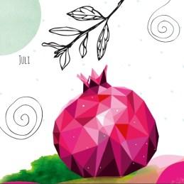 Wandkalender 2017 Designstück dawanda