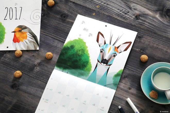 Dawanda Kalender 2017 Geschenk