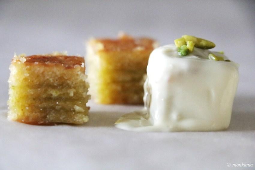 Rezept Baumkuchen Dessert Quadrate