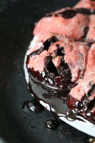rote Bete Schokoladen Hefe Kuchen