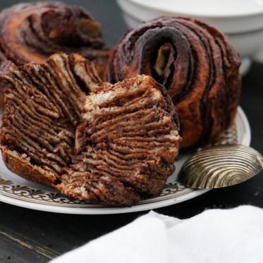 Rosen Muffins Brotteig