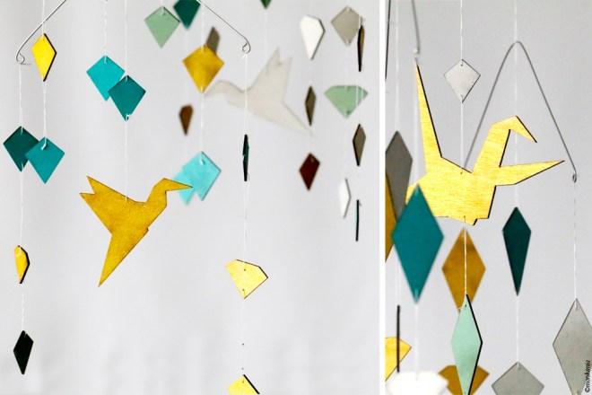 Windspiel birds diamond