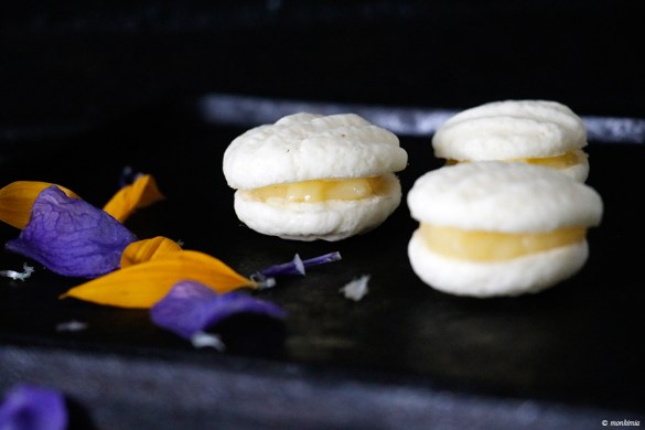 Lemoncurd cookies
