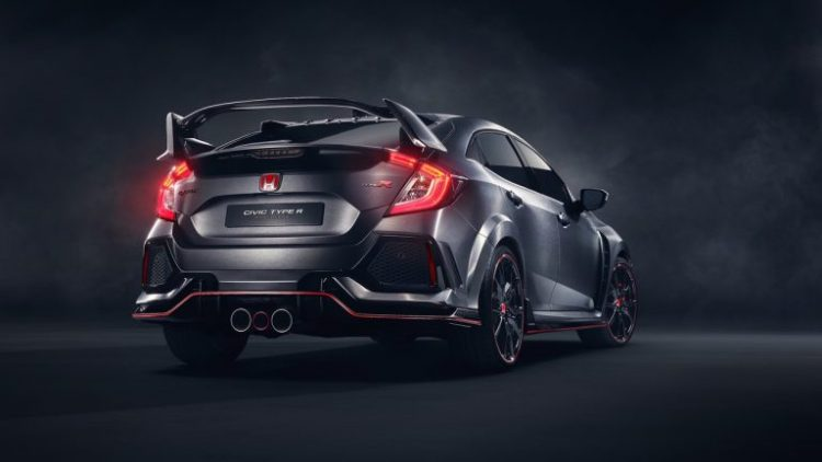Honda Civic Type R Back