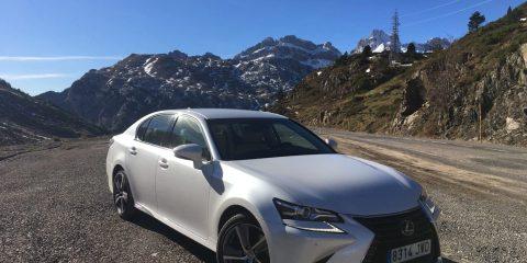 Prueba Lexus GS 300h