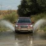 El Subaru Forester es muy capaz en condiciones complicadas