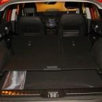 El volumen máximo del maletero plegando los asientos es de 1478 litros