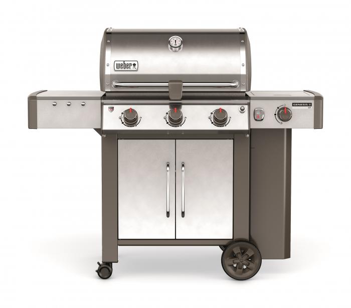barbecue a gaz weber genesis ii lx s 340 gbs inox