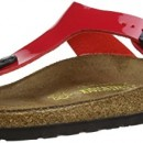 Birkenstock Gizeh – Tongs mixte adulte – Tango Rouge Verni – 41 EU
