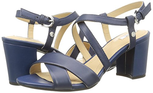 Geox D Nesa C Sandales Femme Bleu C4072 38 Eu Mon
