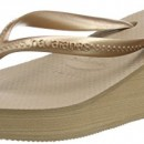 Havaianas High Fashion, Tongs Femme, Rose (Rose Gold), 38 BR (40 EU)