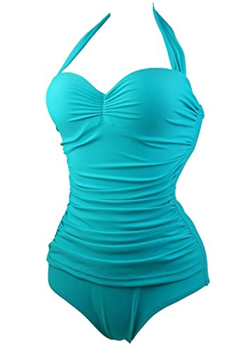 ouo femme maillot de bain nager robe 1 pi ce push up mon. Black Bedroom Furniture Sets. Home Design Ideas