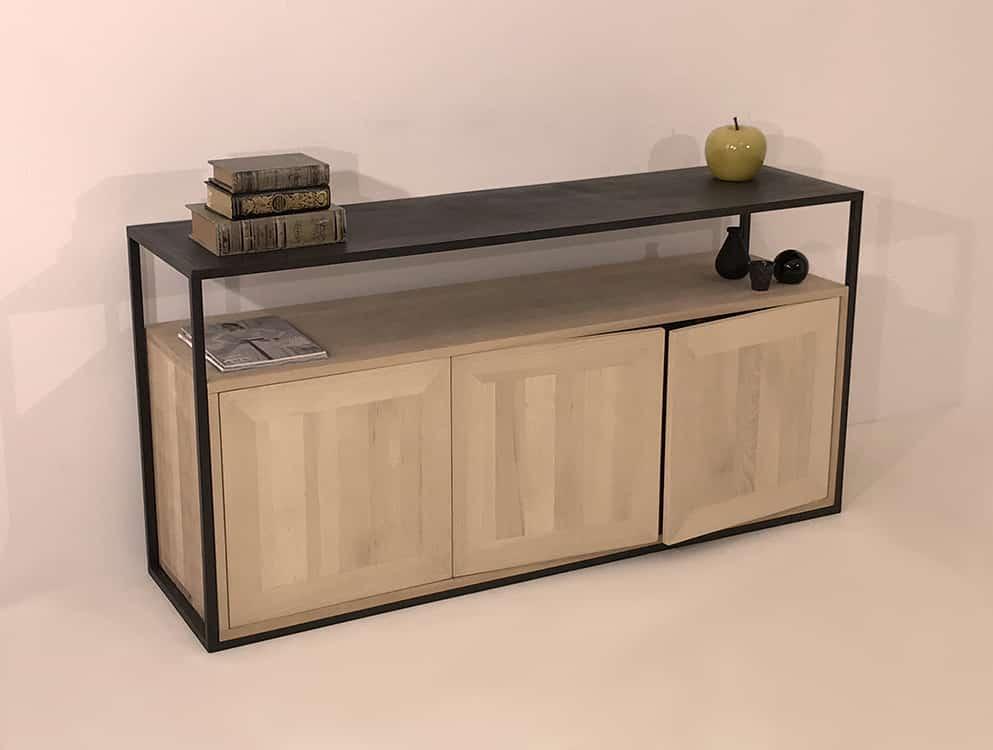 meuble design bois metal design by danny da pozzo