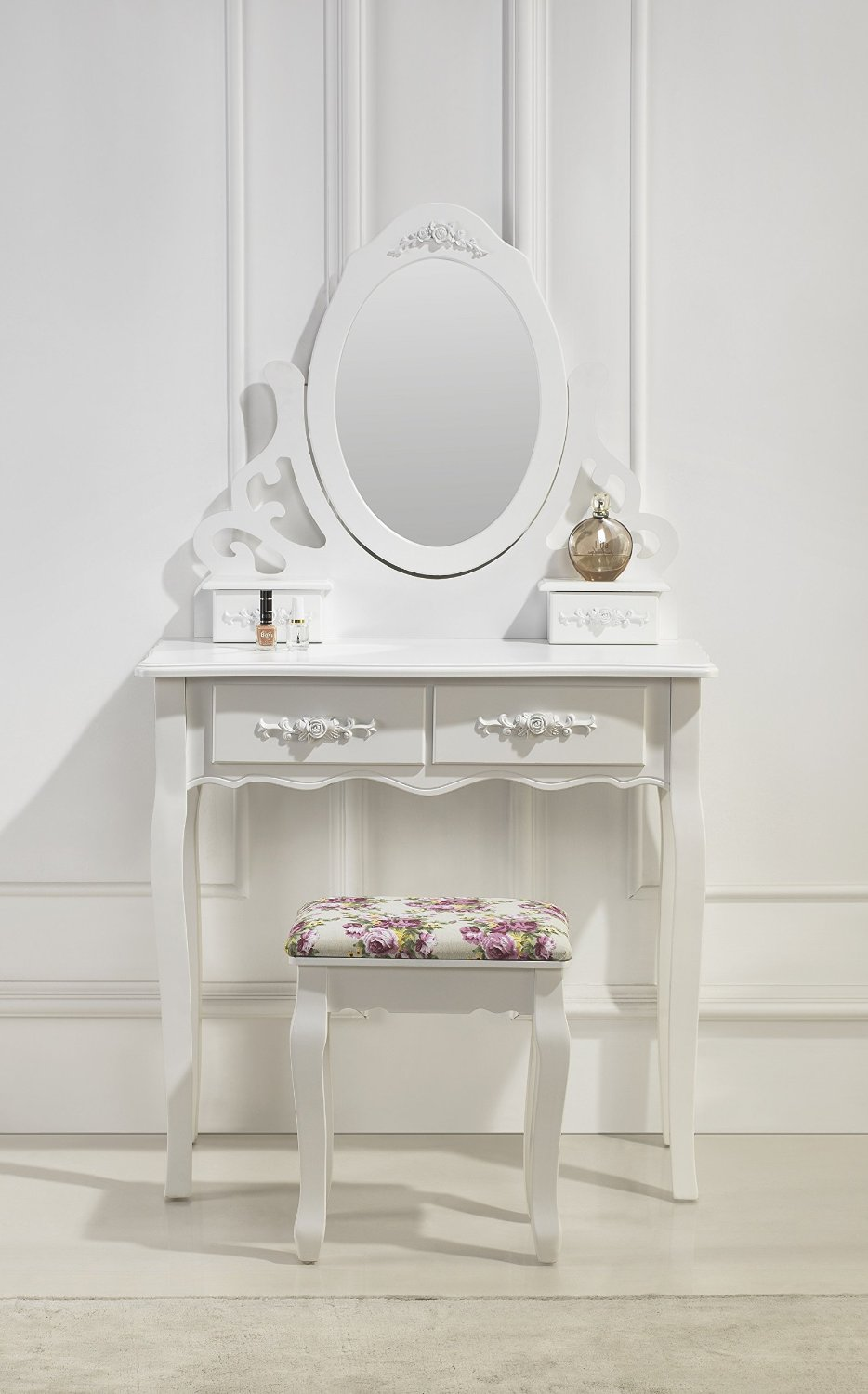 Excellent Coiffeuse Chambre With Coiffeuse Blanche Moderne