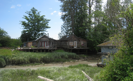 The Village of Finn's Slough in Richmond, BC