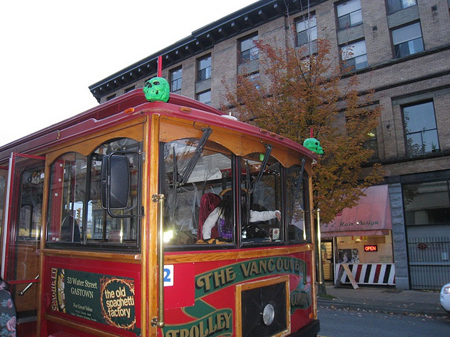 Vancouver Haunted Trolley Tour