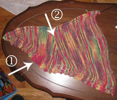 Argante shawl hibernating
