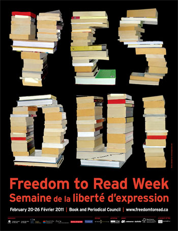 Freedom to Read Week 2011