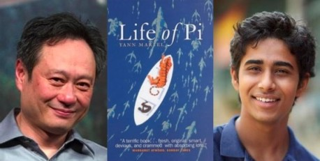 The Life of Pi movie, directed by Ang Lee, starring 17-year-old Suraj Sharma