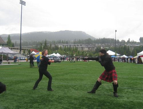 BC Highland Games 2011 - Swordplay (Rapier duel)