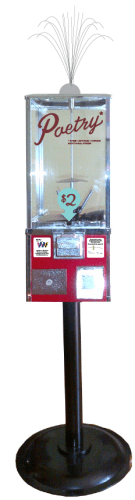 Automated Poetry Project dispensers