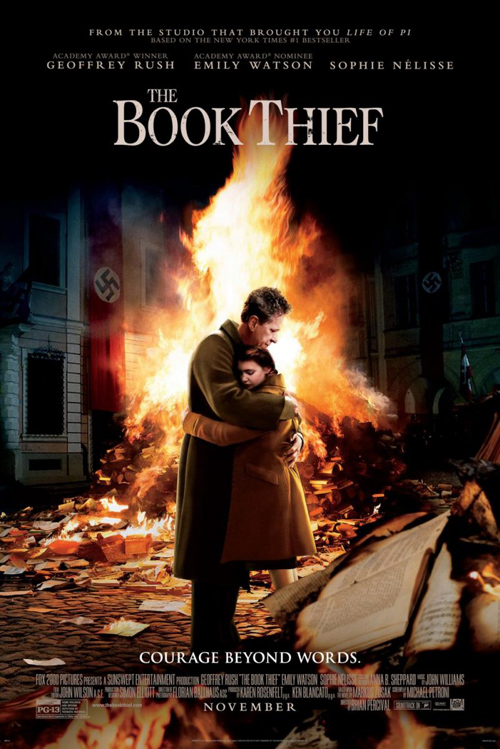 The Book Thief - movie poster