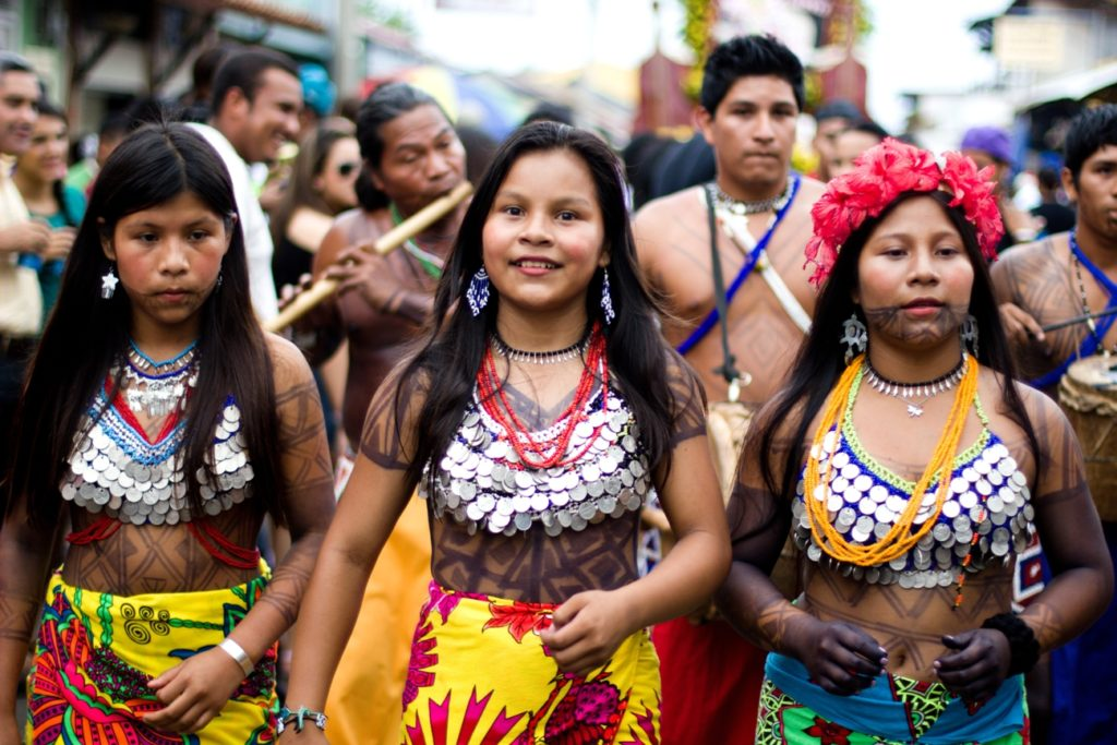 culture aborigène colombie