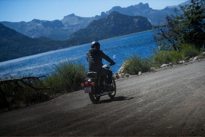 Patagonie en Royal Enfield