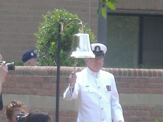 For each conflict, the bell was rung signifying a new list of names.