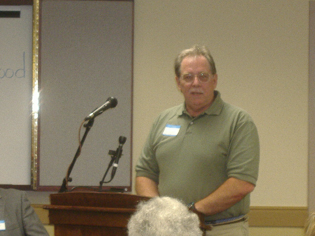 Tim Spies spoke about his experiences with the Camden Neighborhood Association, the area's oldest one.
