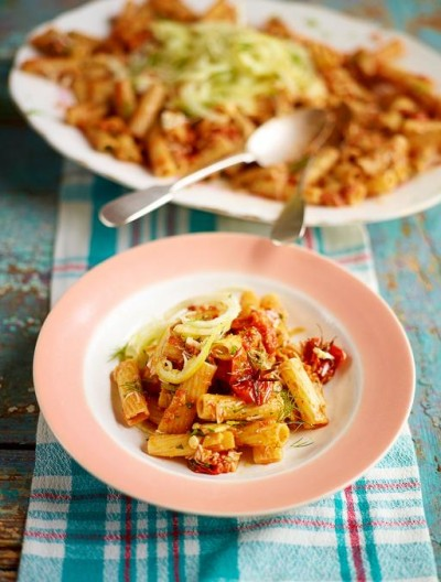 Crab Rigatoni from Jamie Oliver