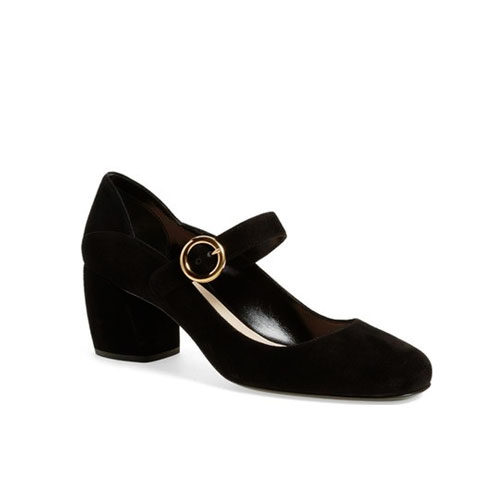 Prada Black Mary Jane Pump