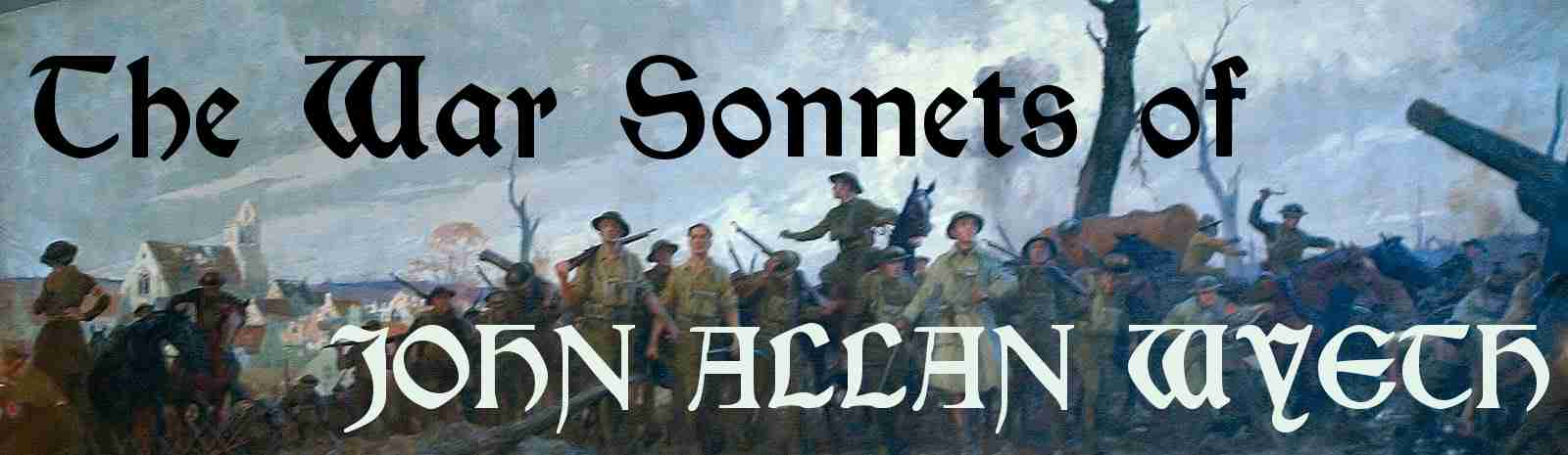 The War Sonnets of John Allan Wyeth