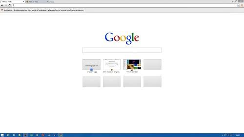 Personnaliser la page nouvel onglet-Chrome