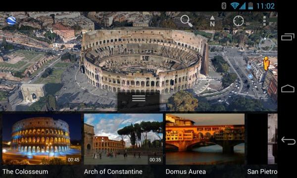 Préparer un séjour avec Google maps