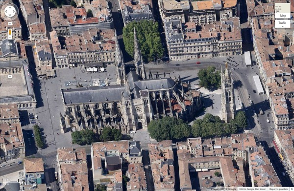 photo-google-maps-cathedrale-saint-andre-a-bordeaux