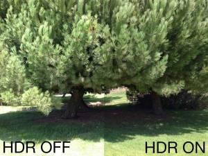 Utiliser la fonction HDR