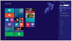 Rechercher sur Windows 8.1