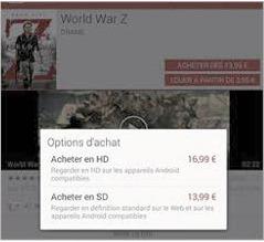 Louer ou acheter le film en HD ou SD