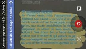 Obtenir la traduction d'un menu à partir d'une photo