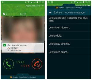 Répondre ou non à un appel