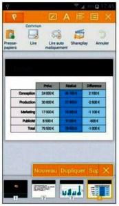 Kingsoft Office et les documents PowerPoint