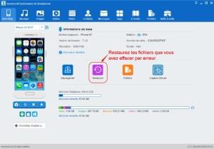 Restaurez les fichiers à partir du backup antérieur sur PC