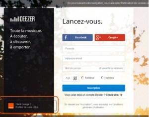 Deezer pour mobiles