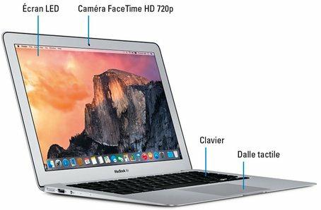 Élégance et sobriété des MacBook
