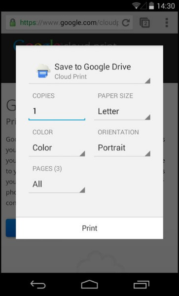 Imprimez un document