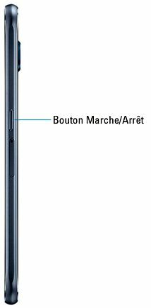Le bouton Marche-Arrêt de votre smartphone