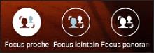Les différents Focus