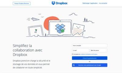Dropbox est un très bon service de cloud